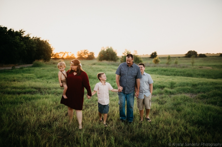 family session in fort worth texas