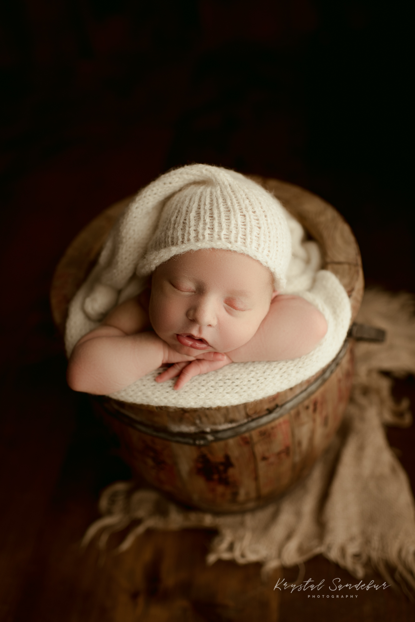Fort Worth Newborn Portrait Session